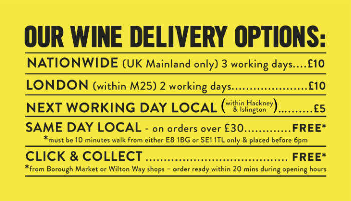 Our Wine Delivery Options