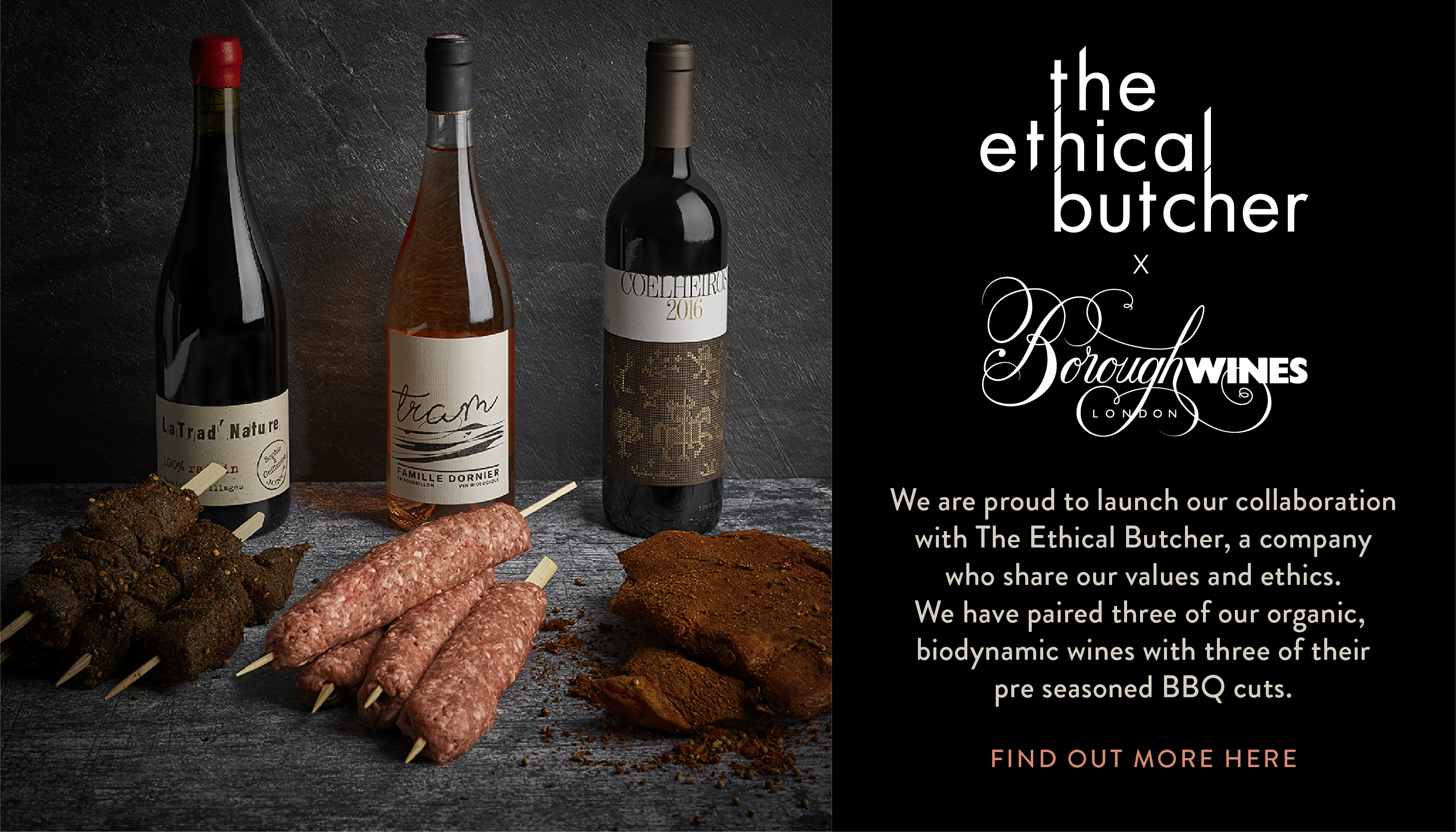 Ethical Butcher x Borough Wines